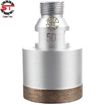 "19mm L75//95mm for Glass Diamond Sintered Core Drill Bit Belgian Mount D3//4/"""